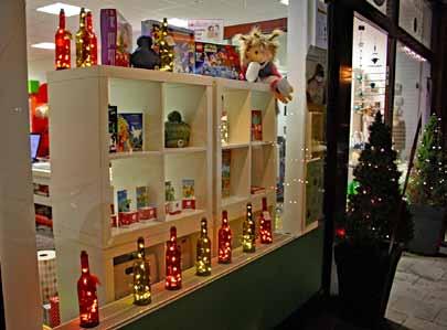 Weihnachtliches Einkaufen in Glehn